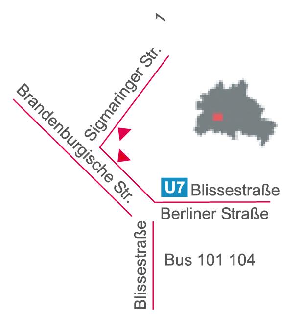 Lageplan-Atelierhaus