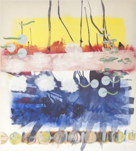 Am See, Öl auf Leinwand, 2012, 165 x 180 cm