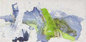 Balkantief Christel, Mixed Media auf Leinwand, 2009, 80 x 150 cm