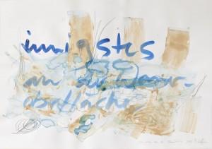 innigstes, Leipziger Zeichentusche auf Fabriano, 2009, 70 x 100 cm