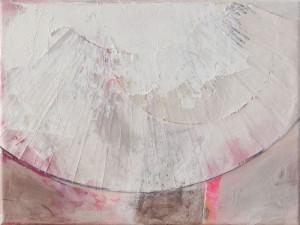 Lightfan, Mixed Media auf Leinwand, 2014, 30 x 45 cm