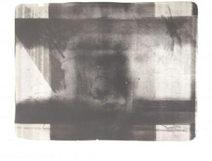 O. T., Lithographie / Monotypie A P auf Bütten, 1987, 70 x 96 cm