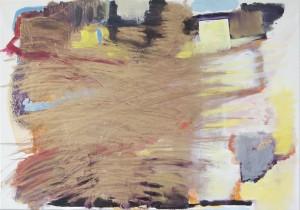 O. T., Mixed Media auf Leinwand, 2015, 70 x 100 cm