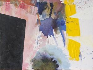 O. T., Öl auf Leinwand, 2013, 65 x 80 cm