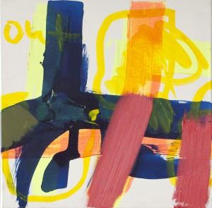 Spring, Öl auf Leinwand, 2013, 50 x 50
