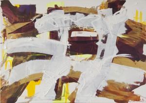 Spring, Öl auf Leinwand, 2008, 85 x 120 cm