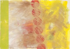 fascial, Öl auf Leinwand, 2015, 70 x 100 cm