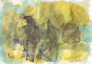void, Leipziger Zeichentusche auf Fabriano, 2014, 45 x 60 cm