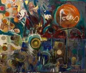 In Focus, Öl auf Leinwand, 2012, 160x185cm